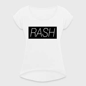 RASH - Women's T-shirt with rolled up sleeves