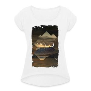 Women's shirt Album Art - Women's T-shirt with rolled up sleeves