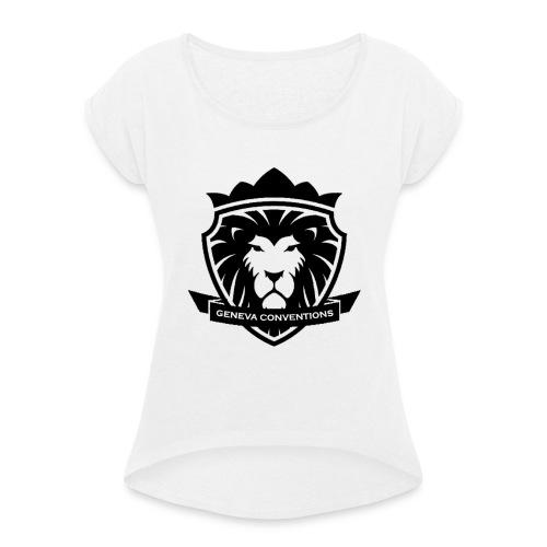 Geneva conventions - T-shirt à manches retroussées Femme