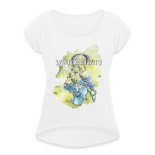 WINTERACTIVITY - T-shirt à manches retroussées Femme