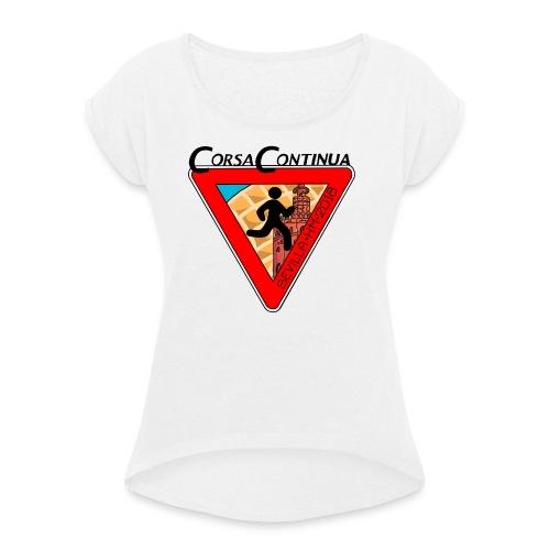 Corsa Continua Siviglia - Maglietta da donna con risvolti