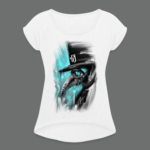 PEST DOKTOR 1.0 - Frauen T-Shirt mit gerollten Ärmeln