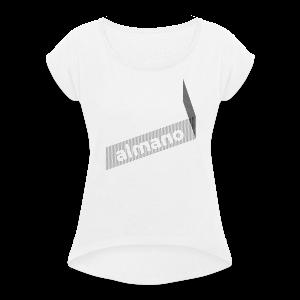 almanoX2.0 - Frauen T-Shirt mit gerollten Ärmeln