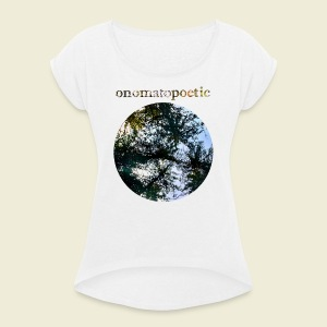 onomatopoetic - Women's T-shirt with rolled up sleeves