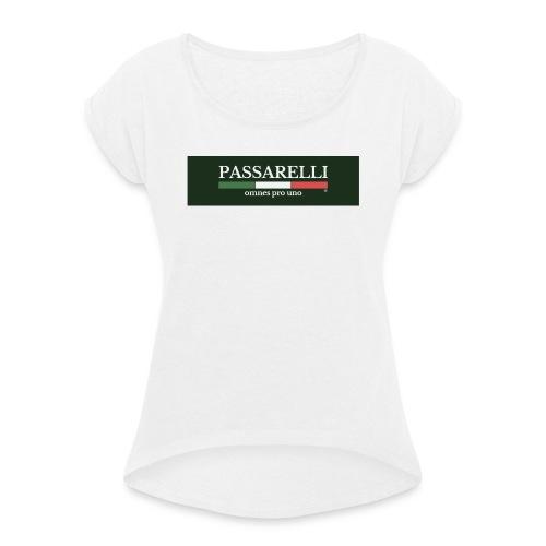 PASSARELLI - Maglietta da donna con risvolti