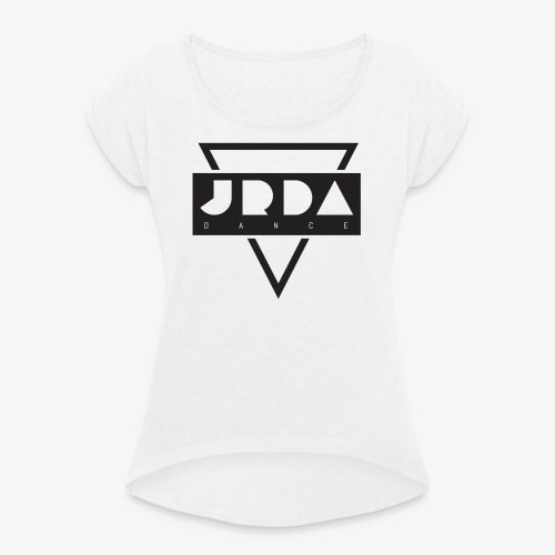 JRDA - Women's T-shirt with rolled up sleeves
