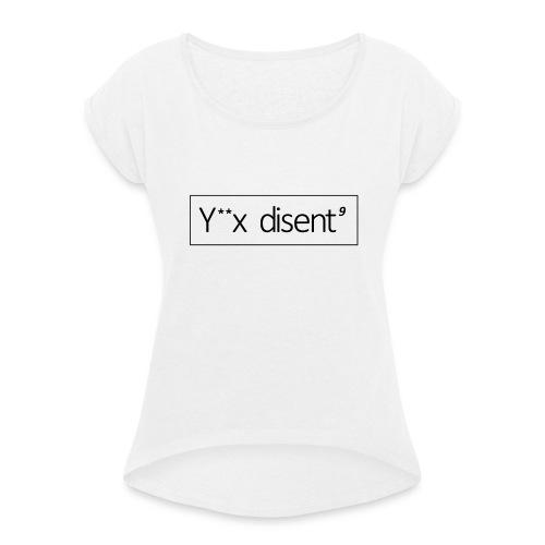 Remake t-shirt - T-shirt à manches retroussées Femme