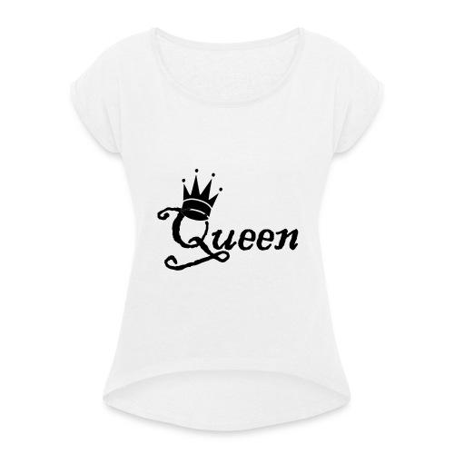 Queen (Parejas l) - Camiseta con manga enrollada mujer