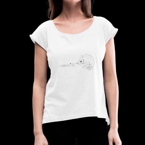 Labbading - Frauen T-Shirt mit gerollten Ärmeln