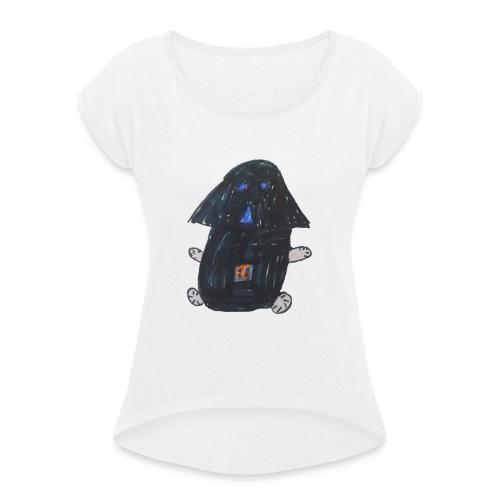 Vadalie - Frauen T-Shirt mit gerollten Ärmeln