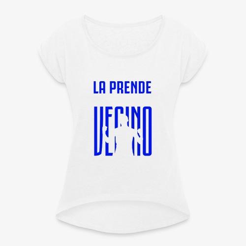 MAGLIETTA INTER / LA PRENDE VECINO / UCL - Maglietta da donna con risvolti