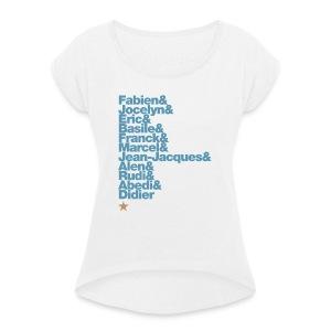 OM 1993-2018 | 25 ans: A JAMAIS LES PREMIERS - T-shirt à manches retroussées Femme
