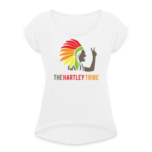 The Hartley Tribe - Frauen T-Shirt mit gerollten Ärmeln