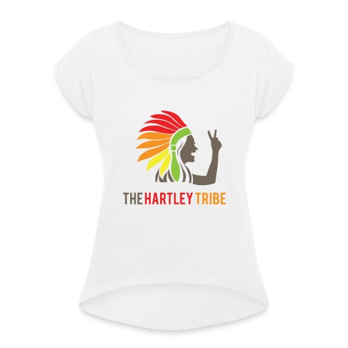 The Hartley Tribe - Frauen T-Shirt mit gerollten Ärmeln