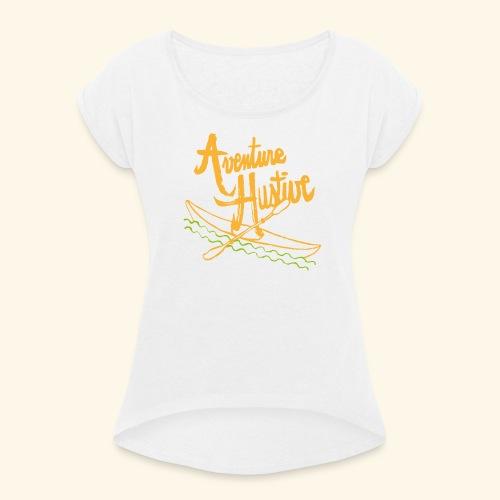 LogoTypo Kayak 04 - T-shirt à manches retroussées Femme
