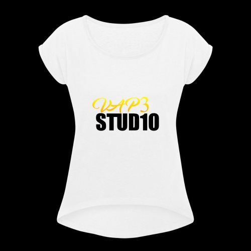 VAP3 STUD1O limited edition - Women's T-shirt with rolled up sleeves
