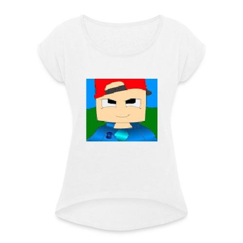 DCGARMY - Vrouwen T-shirt met opgerolde mouwen
