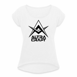 AltraCraft - Women's T-shirt with rolled up sleeves