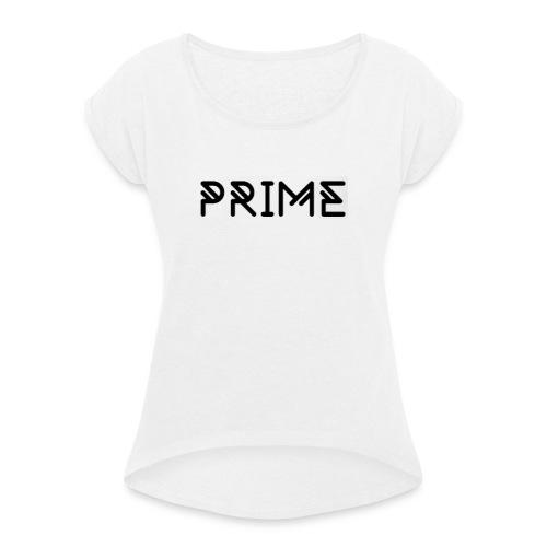 PRIME - Dame T-shirt med rulleærmer