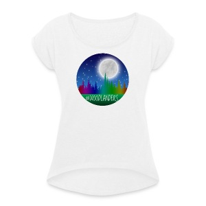 #Woodlander - Women's T-shirt with rolled up sleeves