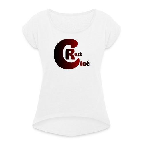 Logo Ciné Rush - T-shirt à manches retroussées Femme