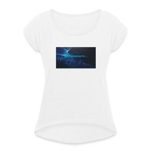 support morphybyte - T-shirt med upprullade ärmar dam