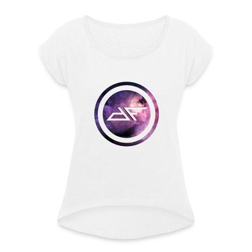 Die FunTastischen - YouTuber/Blogger - Frauen T-Shirt mit gerollten Ärmeln