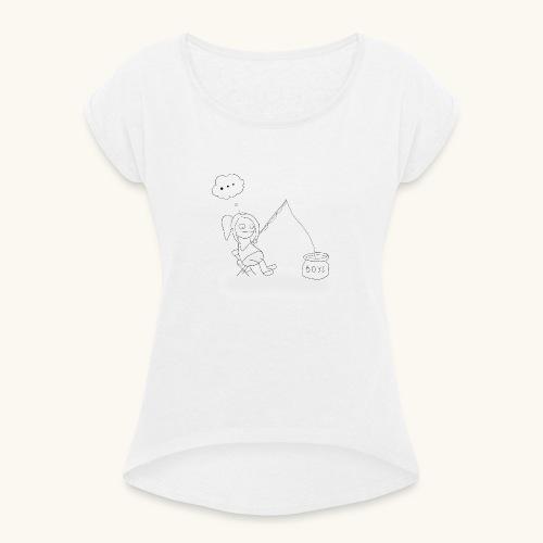 Singlehood - T-shirt à manches retroussées Femme