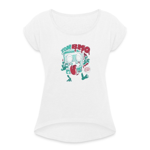 Zombo - Women's T-Shirt with rolled up sleeves