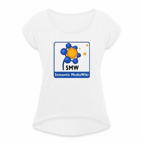 Semantic MediaWiki STREETWEAR - Frauen T-Shirt mit gerollten Ärmeln