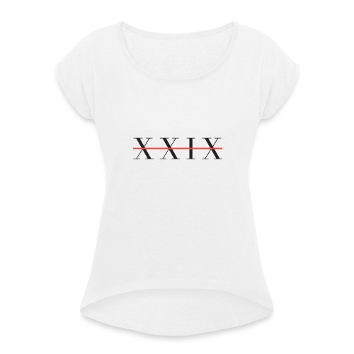 XIXX - Women's T-Shirt with rolled up sleeves