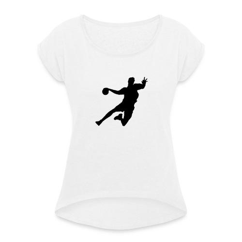 Player1 - Frauen T-Shirt mit gerollten Ärmeln