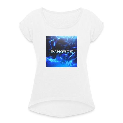 RanordsLogo - Dame T-shirt med rulleærmer