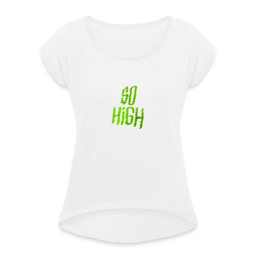 So high - T-shirt à manches retroussées Femme