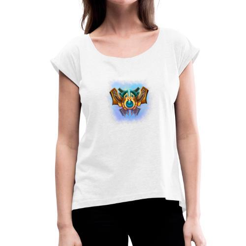 division boost - T-shirt à manches retroussées Femme