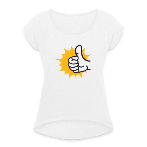logo-jpg - Maglietta da donna con risvolti
