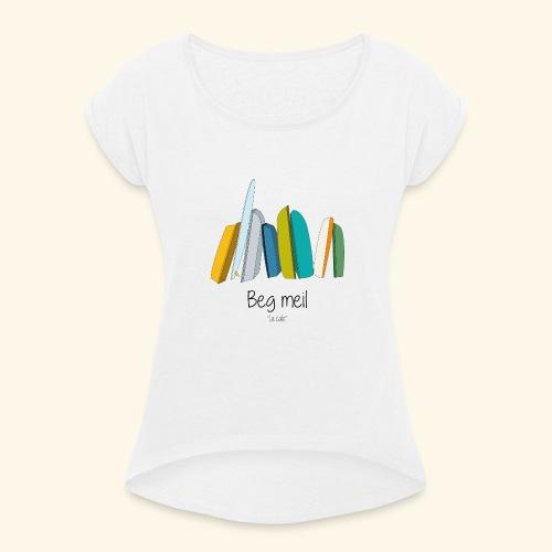 Beg Meil La cale - T-shirt à manches retroussées Femme
