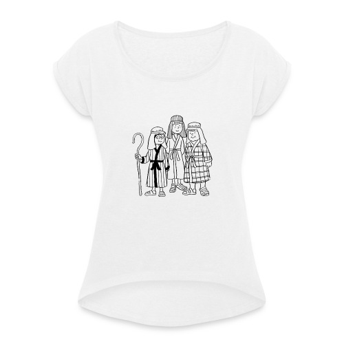Shepherds - Women's T-Shirt with rolled up sleeves
