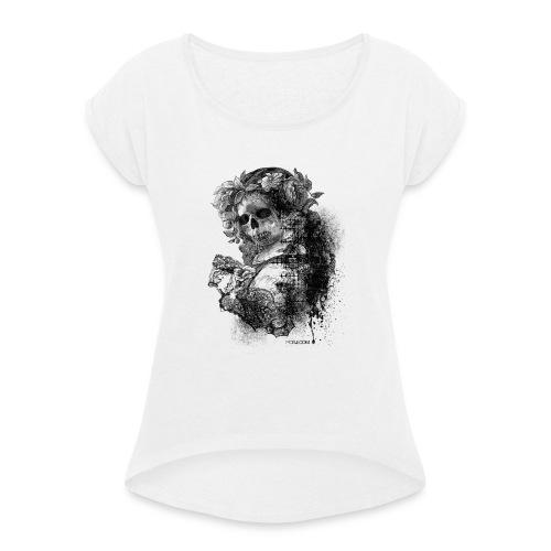 Baby Skull - T-shirt à manches retroussées Femme
