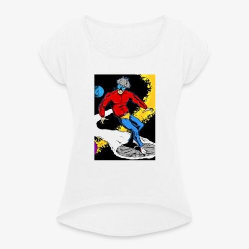 Tunder Cover 1 - Maglietta da donna con risvolti