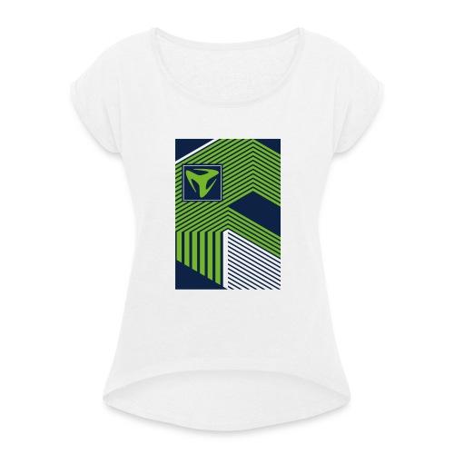Spring/Summer 10 - Frauen T-Shirt mit gerollten Ärmeln