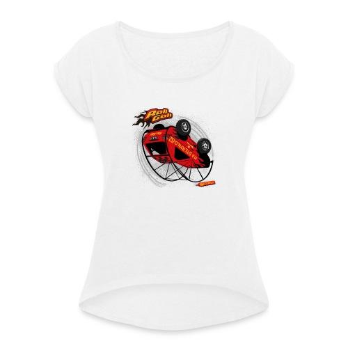 RollGolf - Vrouwen T-shirt met opgerolde mouwen