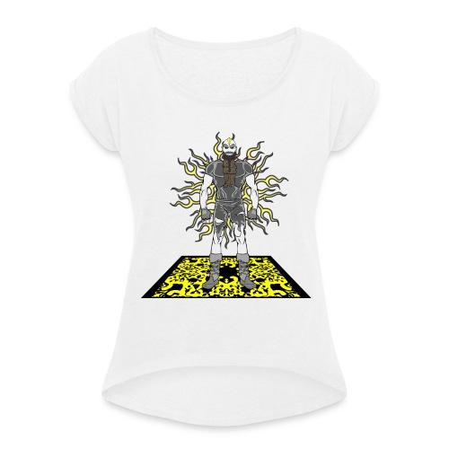 Electro - T-shirt à manches retroussées Femme