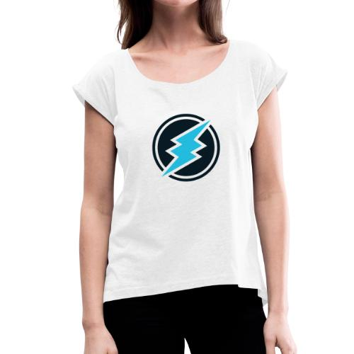 ETN logo - Women's T-Shirt with rolled up sleeves