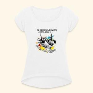 Splash - T-shirt à manches retroussées Femme