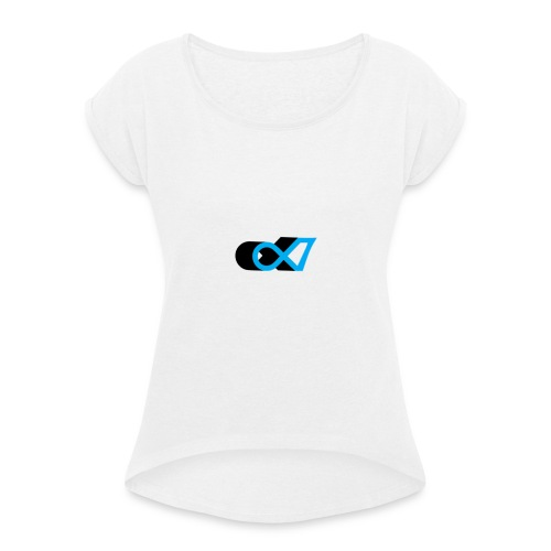 Alpha 7 - Camiseta con manga enrollada mujer