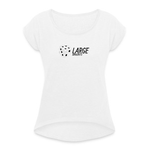 Original Logo - Women's T-shirt with rolled up sleeves