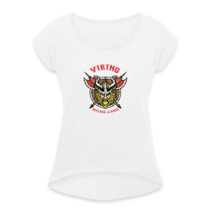 Viking League - Women's T-shirt with rolled up sleeves