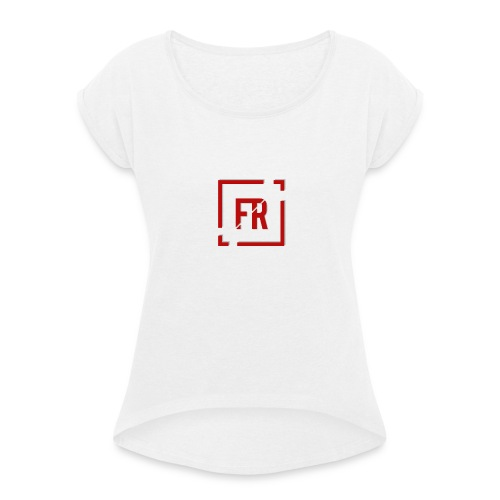 Logo FrikiReview - Camiseta con manga enrollada mujer