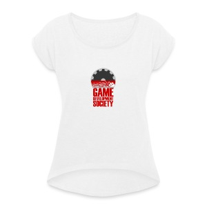 Game Development Society - Women's T-shirt with rolled up sleeves